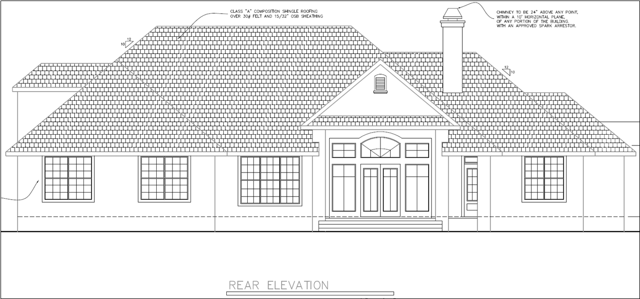 Custom Rear Elevation