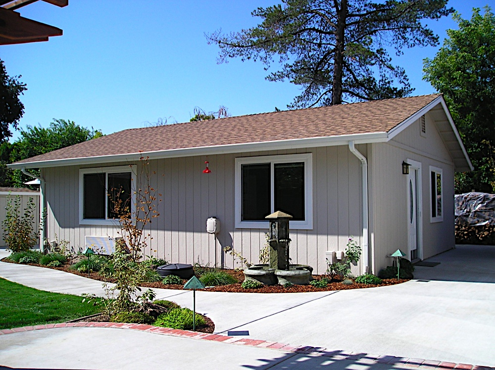 California precut homes granny units for Prefab granny unit california